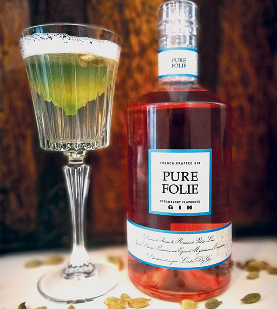 Recette cocktail Pure Folie Smash