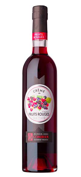 Crème de Fruits Rouges de la Distillerie Combier